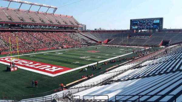 High Point Solutions Stadium, section: 111, row: 38, seat: 14