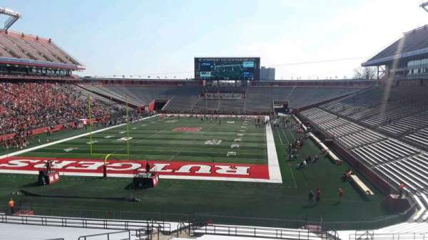 High Point Solutions Stadium, section: 114, row: 38, seat: 14
