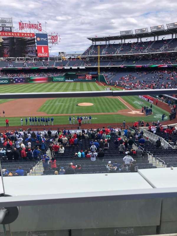 Nationals Park, section: 209, row: A, seat: 14