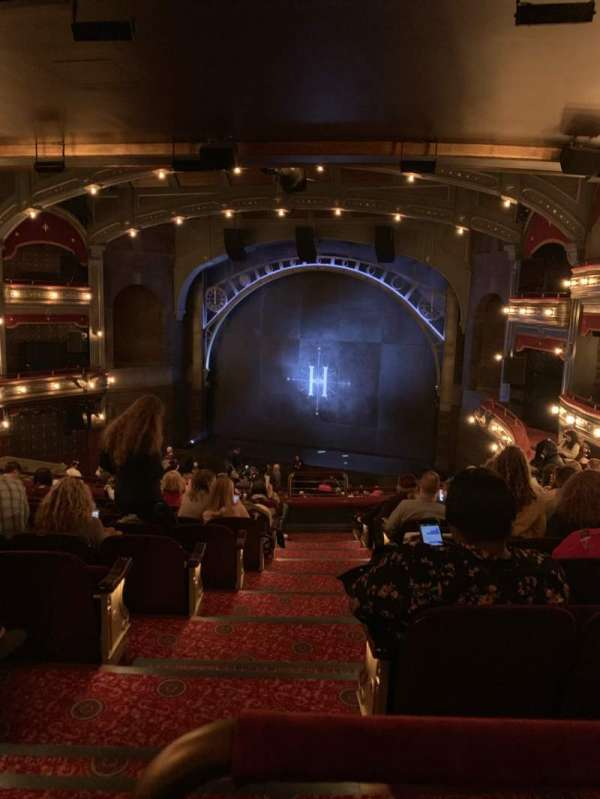 Lyric Theatre, section: Dress Circle Right, row: K, seat: 4