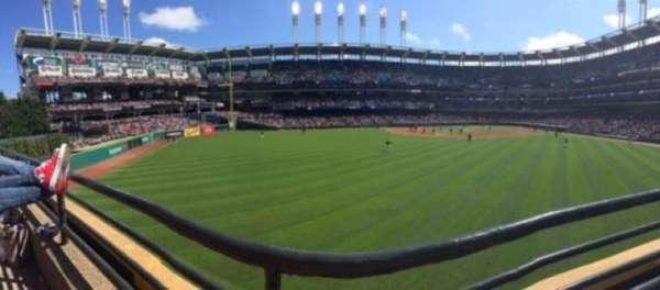 Progressive Field, section: 183, row: A