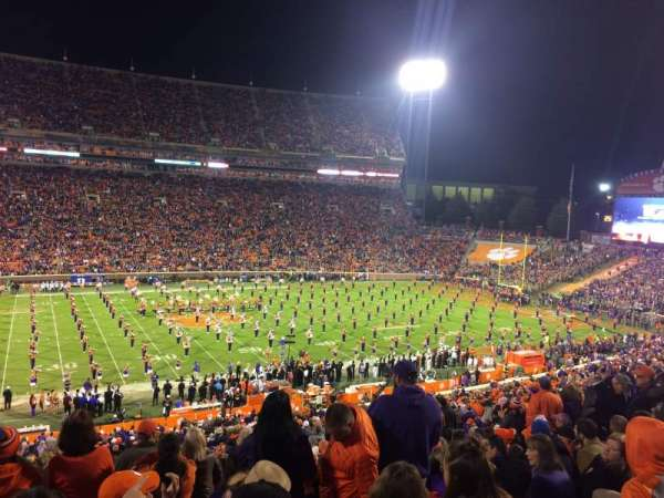 Memorial Stadium, Clemson, section: UG, row: F, seat: 15,17