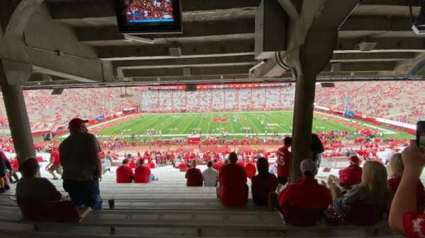 Memorial Stadium (Lincoln), section: 6, row: 44, seat: 10