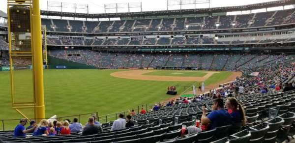 Globe Life Park in Arlington, section: 9, row: 16, seat: 21
