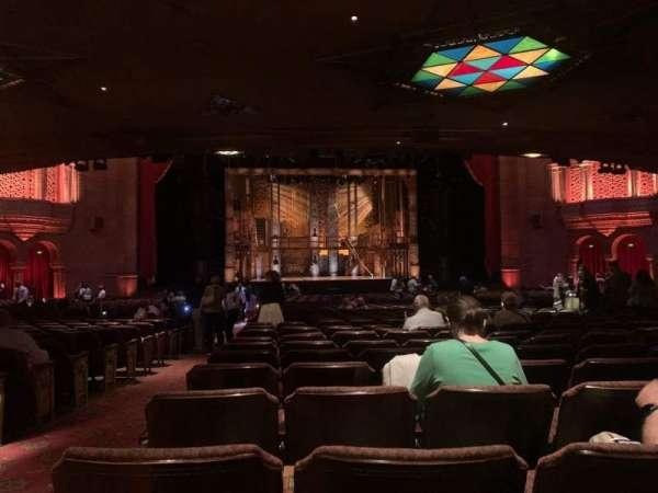 Fox Theatre (Atlanta), section: Orchestra C, row: HH, seat: 114