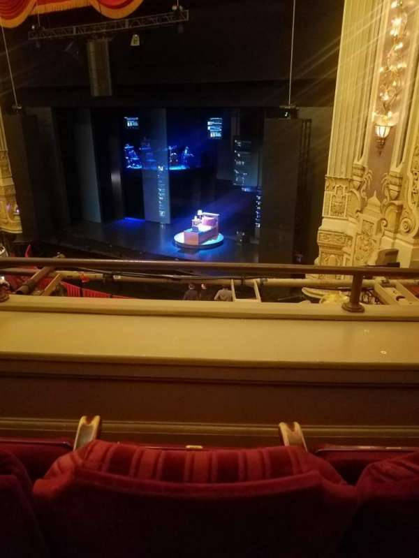 James M. Nederlander Theatre, section: LOGE R, row: B, seat: 360