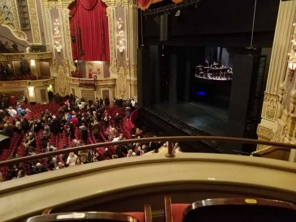 James M. Nederlander Theatre, section: Loge - Box 2, row: A, seat: 374
