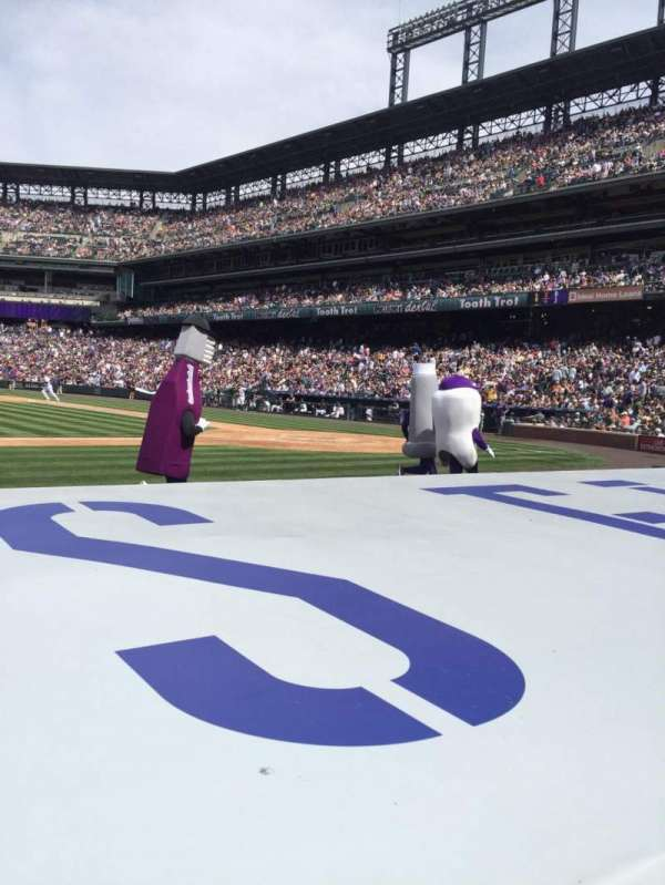 Coors Field, section: 137, row: 5, seat: 12