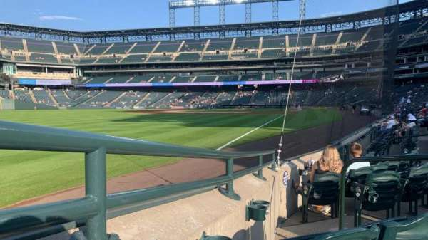 Coors Field, section: 149, row: 7, seat: 4