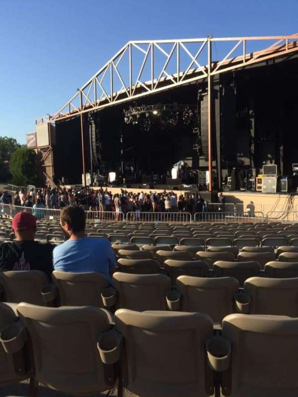 Providence Medical Center Amphitheater, section: Lower 2, row: BB