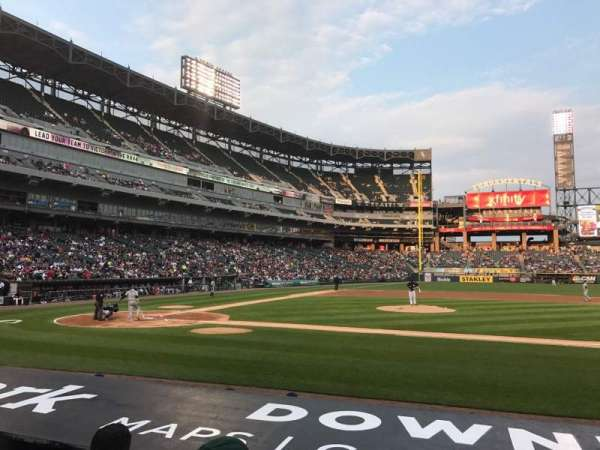 Guaranteed Rate Field, section: 125, row: 8, seat: 6