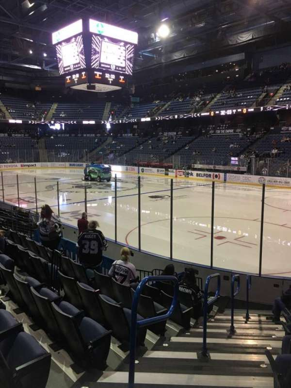 Citizens Business Bank Arena, section: 101, row: J, seat: 20