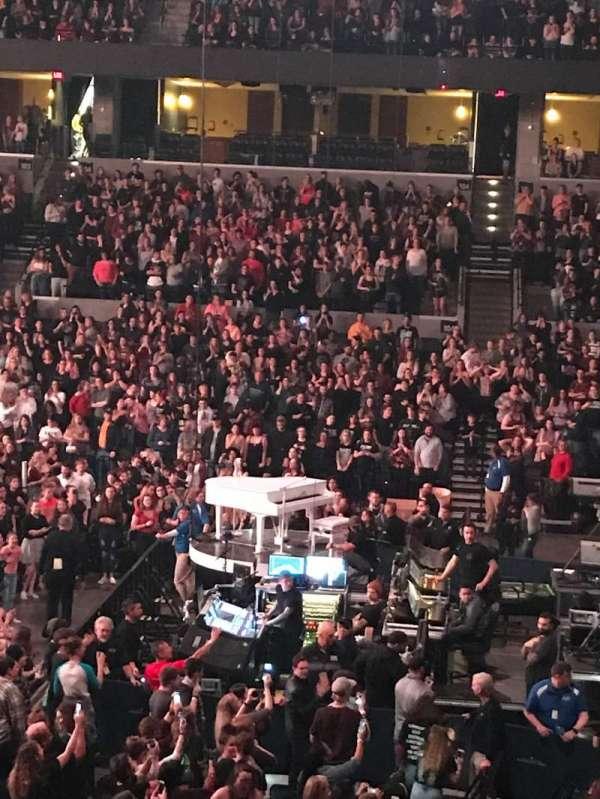 John Paul Jones Arena, section: 112, row: V, seat: 1-2