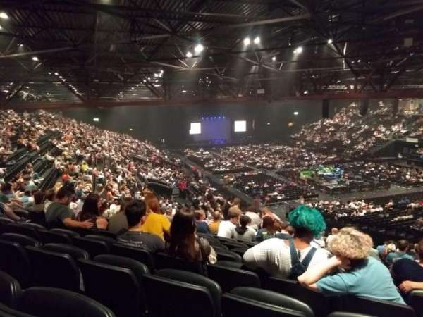 Genting Arena, section: Block 11, row: YF, seat: 337