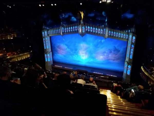 Prince of Wales Theatre, section: Circle, row: K, seat: 11