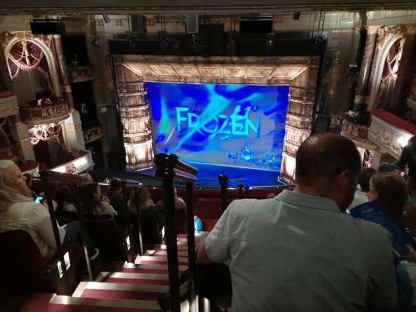 Theatre Royal Drury Lane, section: Grand Circle, row: F, seat: 18