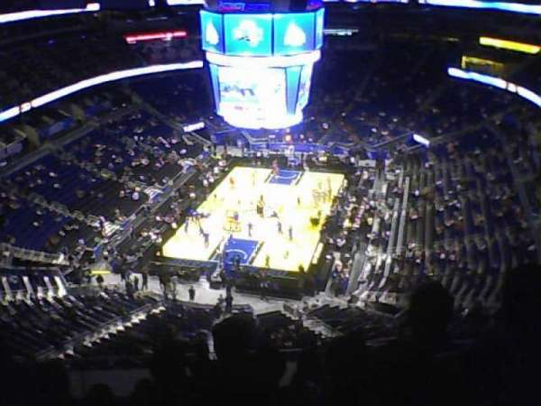 Amway Center, section: 216, row: 14, seat: 5