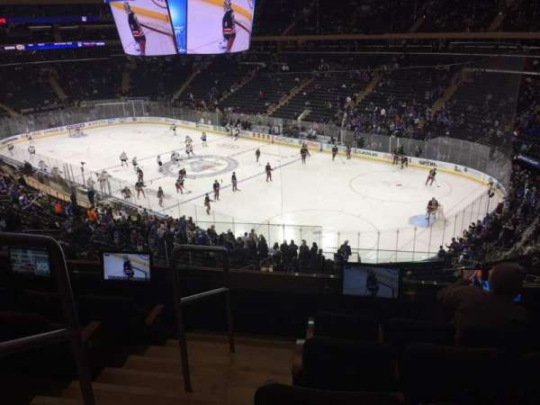 Madison Square Garden, section: 201, row: 5, seat: 2