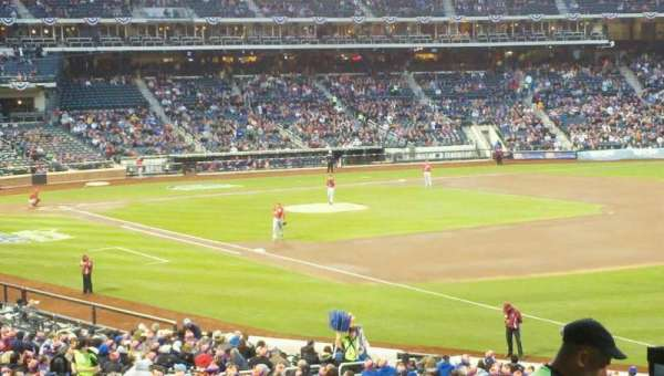 Citi Field, section: 108, row: 32, seat: 1