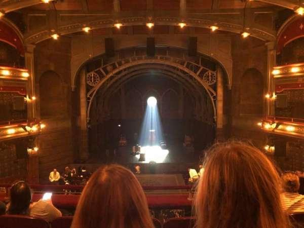 Lyric Theatre, section: Dress Circle C, row: D, seat: 114