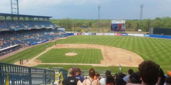 NBT Bank Stadium, section: 301, row: 14, seat: 23