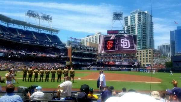 PETCO Park, section: 109, row: 9, seat: 16