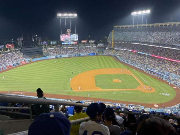Dodger Stadium, section: 17RS, row: DD, seat: 8