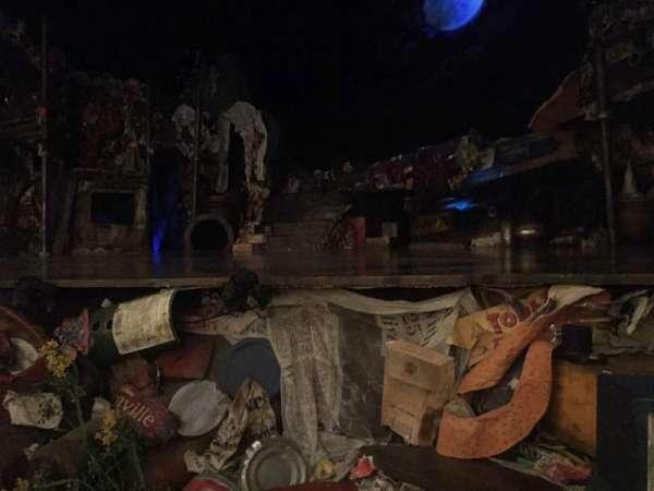 Neil Simon Theatre, section: Orchestra, row: B, seat: 8