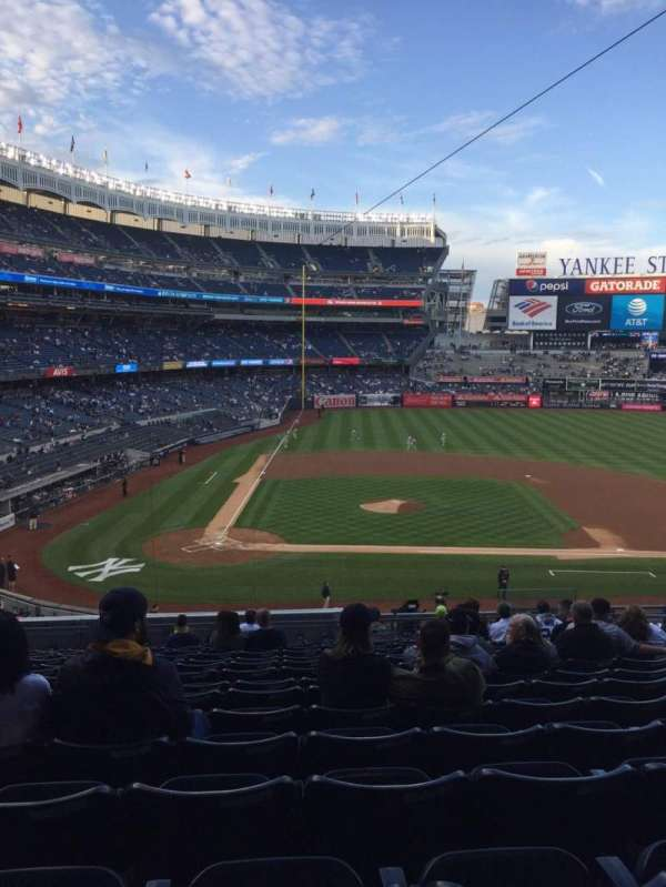 Yankee Stadium, section: 217, row: 15, seat: 9