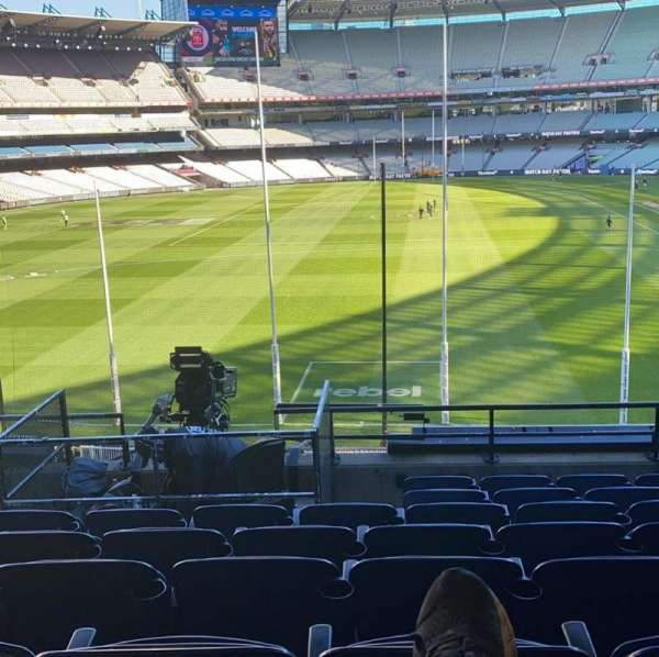 Melbourne Cricket Ground, section: N3, row: H