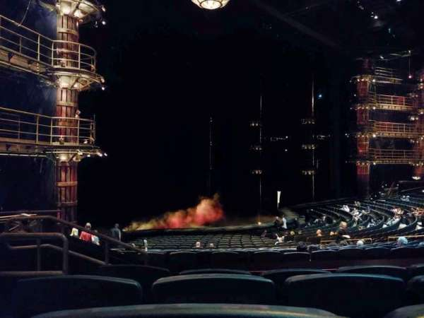 KÀ Theatre - MGM Grand, section: 201, row: EE, seat: 2