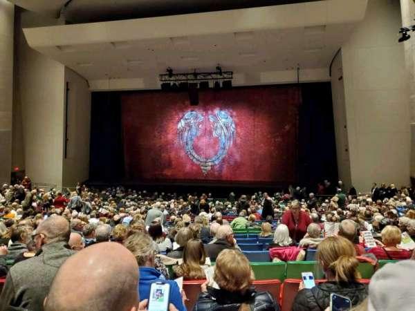 Des Moines Civic Center, section: 5E, row: X, seat: 64