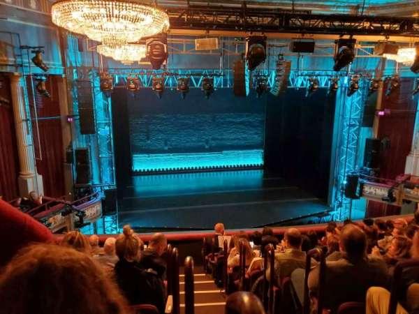 Broadhurst Theatre, section: Mezzanine L, row: J, seat: 1