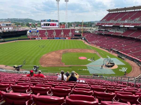 Great American Ball Park, section: 417, row: O, seat: 5