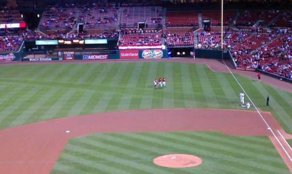 Busch Stadium, section: 255, row: 255, seat: 10