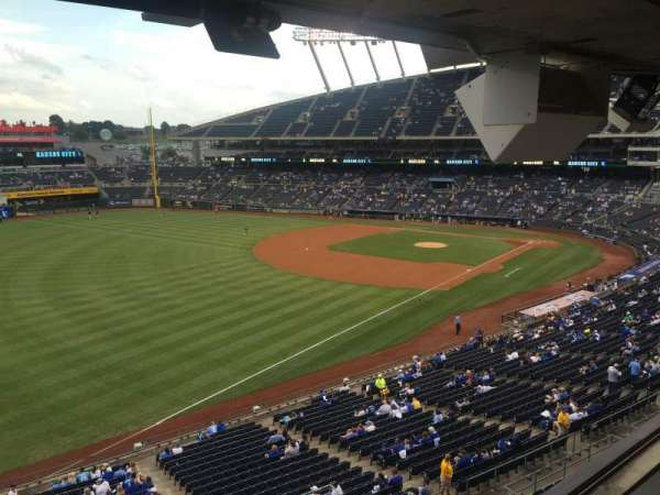 Kauffman Stadium, section: 310