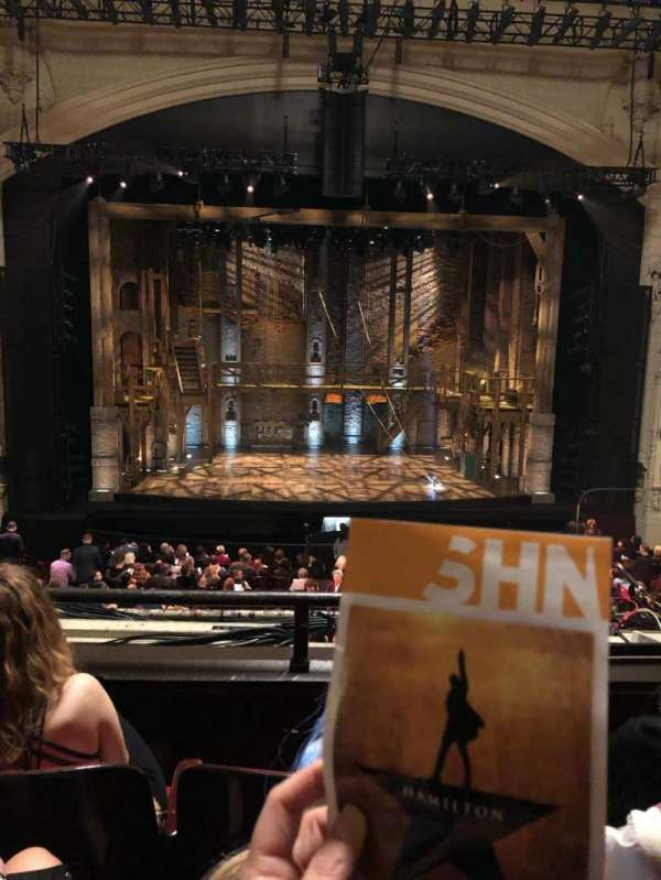 Orpheum Theatre (San Francisco), section: Loge RC, row: C, seat: 103