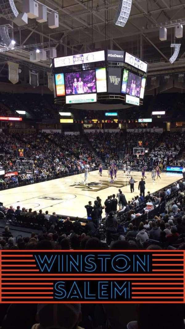 Lawrence Joel Veterans Memorial Coliseum, section: 111, row: S, seat: 5