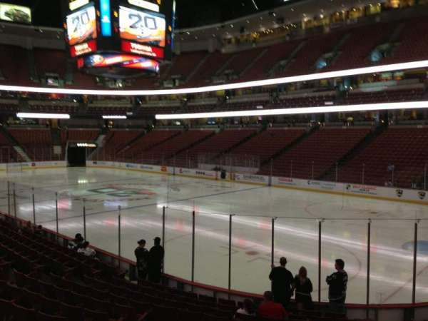 Honda Center, section: 204, row: N, seat: 8