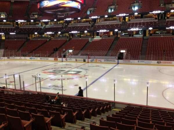 Honda Center, section: 220, row: Q, seat: 12