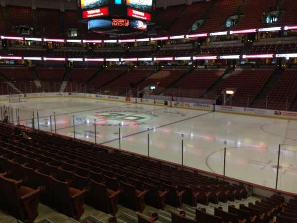 Honda Center, section: 219, row: R, seat: 10