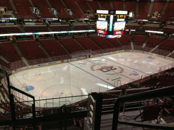 Honda Center, section: 416, row: G, seat: 10