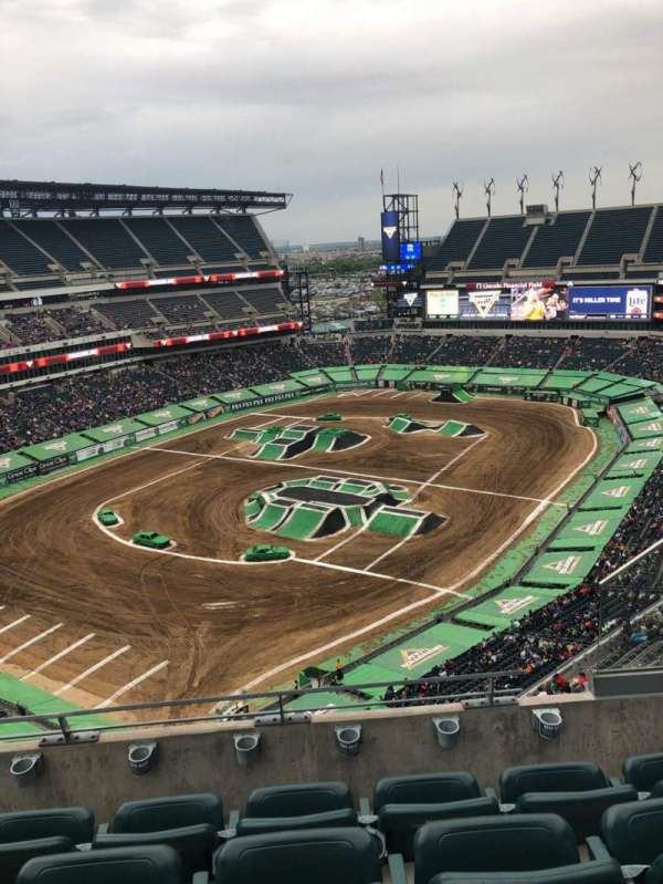 Lincoln Financial Field, section: 218, row: 8, seat: 5