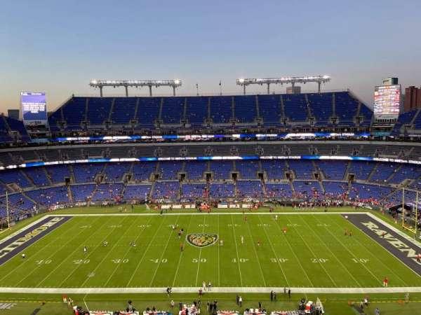 M&T Bank Stadium, section: 526, row: 4, seat: 11