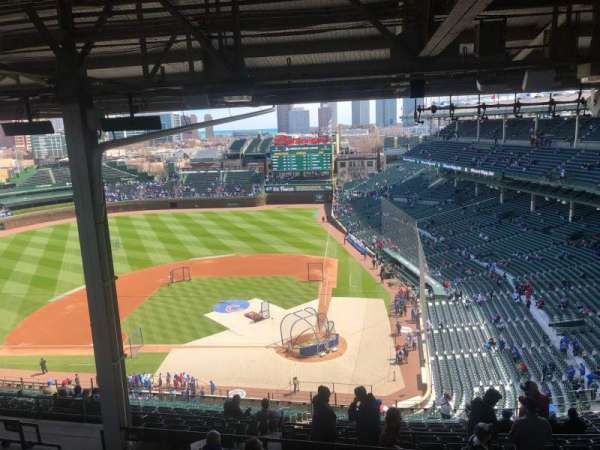 Wrigley Field, section: 414L, row: 8, seat: 10