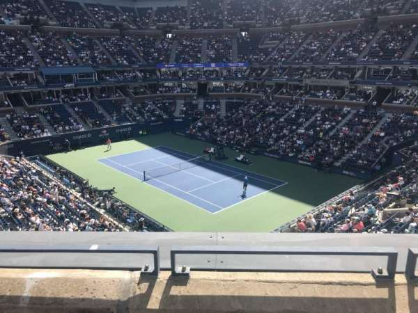 Arthur Ashe Stadium, section: 115, row: B, seat: 11