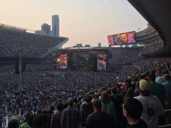 Soldier Field, section: 215, row: 10, seat: 18