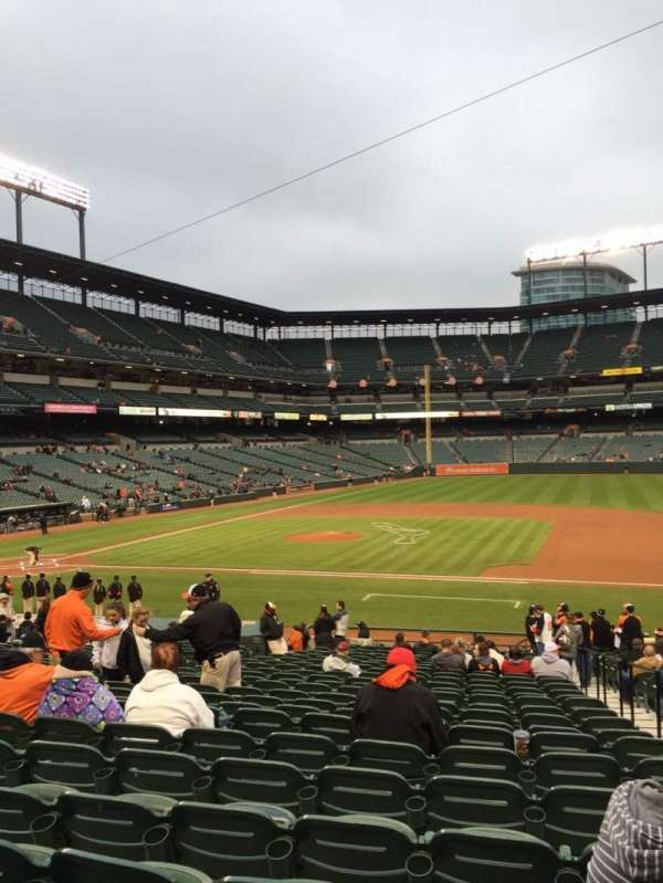 Oriole Park at Camden Yards, section: 20, row: 25, seat: 2