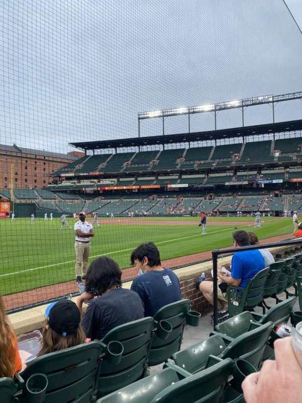 Oriole Park at Camden Yards, section: 66, row: 3, seat: 5