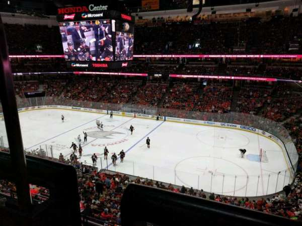 Honda Center, section: 408, row: A, seat: 15